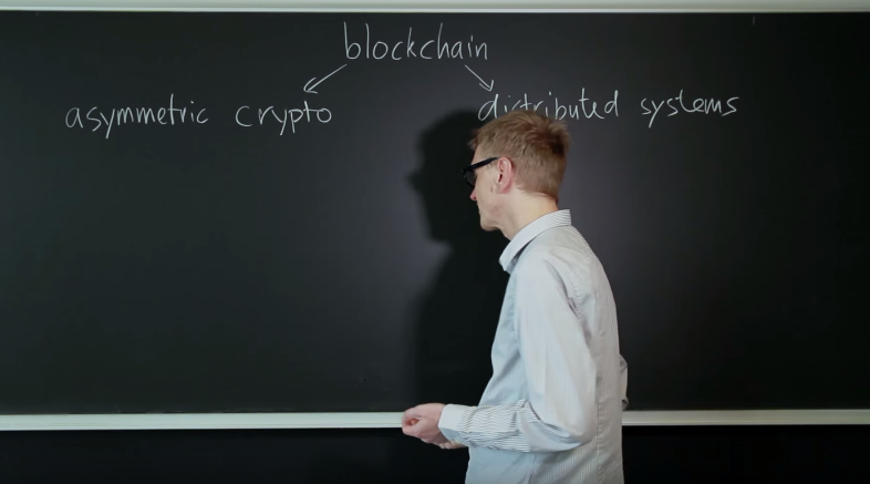 Blockchain and Us - Illustration by Roger Wattenhofer