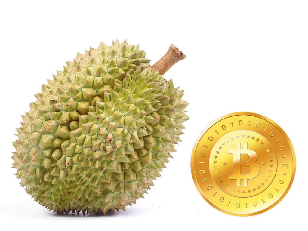 Bitcoin and durian
